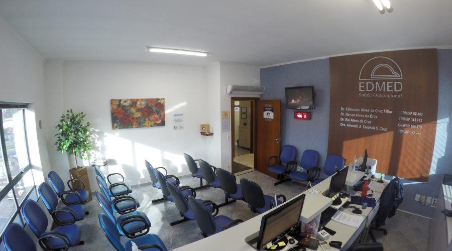 Recepção - EDMED - Saúde Ocupacional